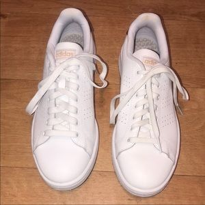 Adidas Cloudfoam White & Golf Sneakers